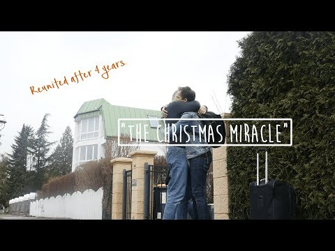 CHRISTMAS MIRACLE | SURPRISING MY DAD