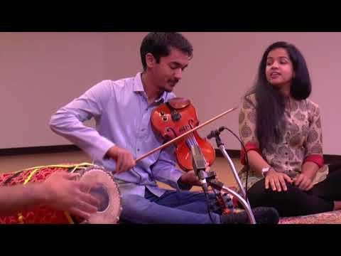 """Tillana"" - Ambi Subramaniam (violn), Bindu Subramaniam (voice), Mahesh Krishnamurthy (mridangam)"