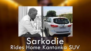 Sarkodie buys first Kantanka SUV (Calls all Ghanaians hypocrites) LATEST ENTERTAINMENT NEWS IN GHANA