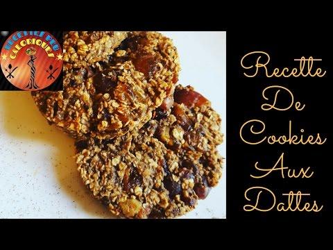 how-to-|-recette-de-cookies-allégés-l-cookies-aux-dattes-|-low-carb-date-cookie-recipe