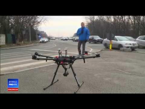 Poliţia română foloseşte drone