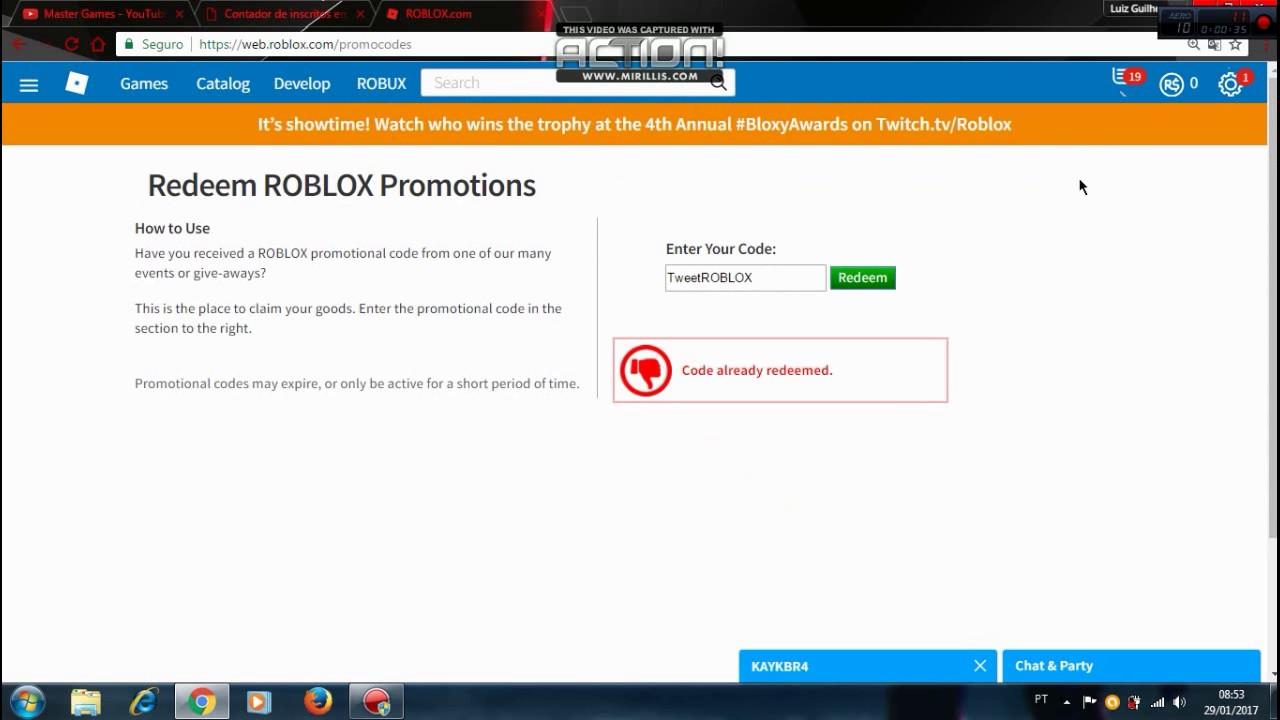 https web roblox promo code