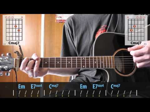 Stereophonics - Mr. Writer guitar lesson for beginners