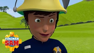 Ellie teaches barbecue safety! | Fireman Sam Official | Cartoons for Kids