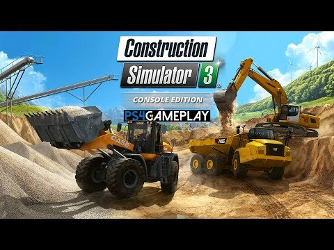 Construction Simulator 3 – Console Edition Gameplay (PS4 HD)
