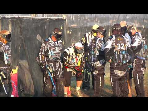 Tampa Bay Damage  vs San Diego Dynasty - Raw Paintball Match HD Footage at PSP World Cup 2009