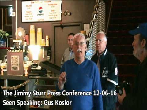 The December 6th 2016 Jimmy Sturr Live Taping Announcement Press Conference