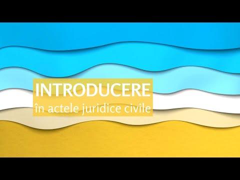 Pastila de civil #6: Introducere în acte juridice civile (MD)