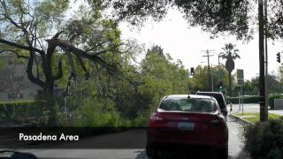 San Gabriel Valley Santa Ana Wind Aftermath