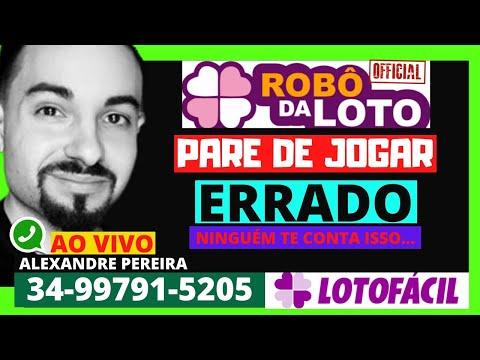 robo da lotofacil gratis