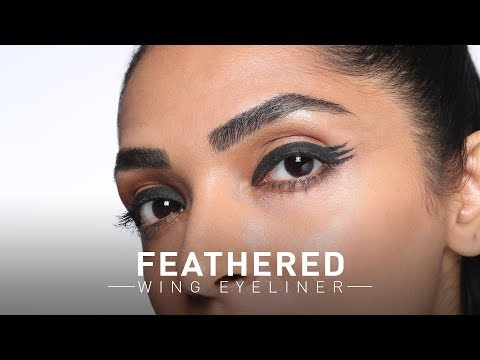 Feathered Wing Eyeliner Tutorial | Jazba | MyGlamm
