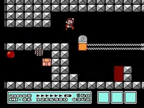 Super Mario Bros 3 World 8 Bowser S Castle Pt 2 2 Youtube