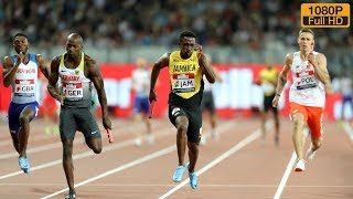 mens 4 x 100m relay at athletics world cup 2018