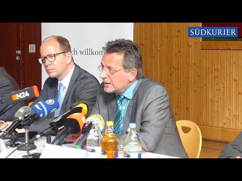 Pressekonferenz zur tödlichen Beziehungstat in Villingendorf / Kreis Rottweil(15.09.2017)