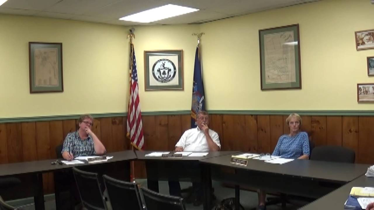 Champlain Village Board Meeting  9-12-16