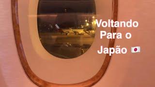 Voltando para o japão acabou as férias