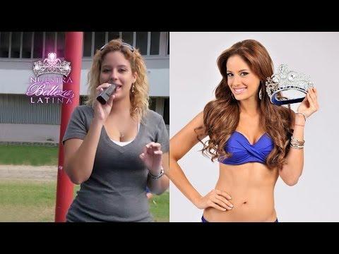 Reinas de belleza antes y despues de adelgazar
