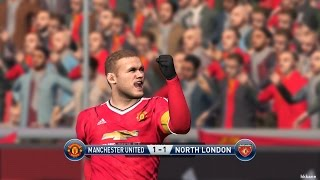 PES 2016 PC Manchester United VS Arsenal Gameplay