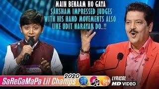 Saksham Saregamapa Lil Champs 2020 - Main Benaam Ho Gaya - Udit Narayan - Alka Yagnik - Kumar Sanu