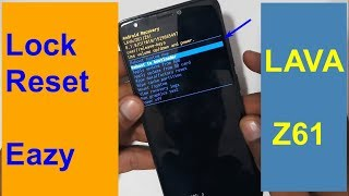 Lava Z61 Hard Reset And Pattern Lock Pin Lock Reset New 2018