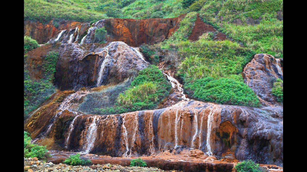 金瓜石「黃金瀑布」及「黃金博物館」 2014-10-28 - YouTube