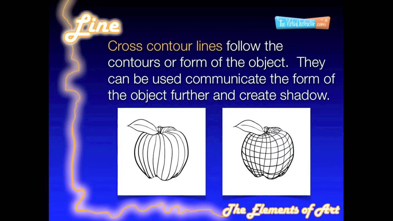 Elements Of Line : The elements of art line youtube