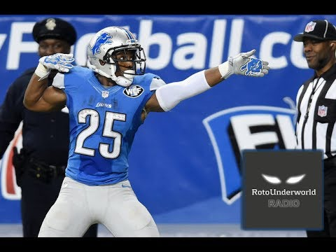 Ameer Abdullah & Theo Riddick are screaming values in fantasy football, but not Zach Zenner