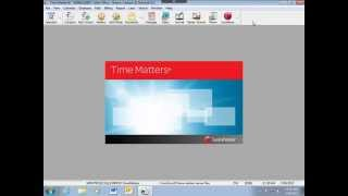 Hints and Tips for LexisNexis Time Matters Software