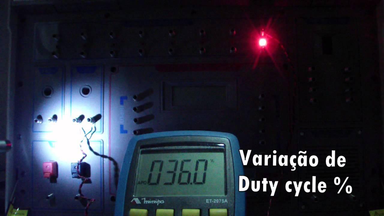 Projeto 372 Circuito Sensor De Luz Youtube Com Ldr Te1