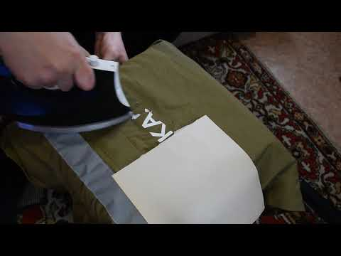Как убрать надпись с куртки в домашних условиях