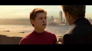 Человек паук  Возвращение домой Тони Старк забирает костюм у Питера Паркера Трогательный момент