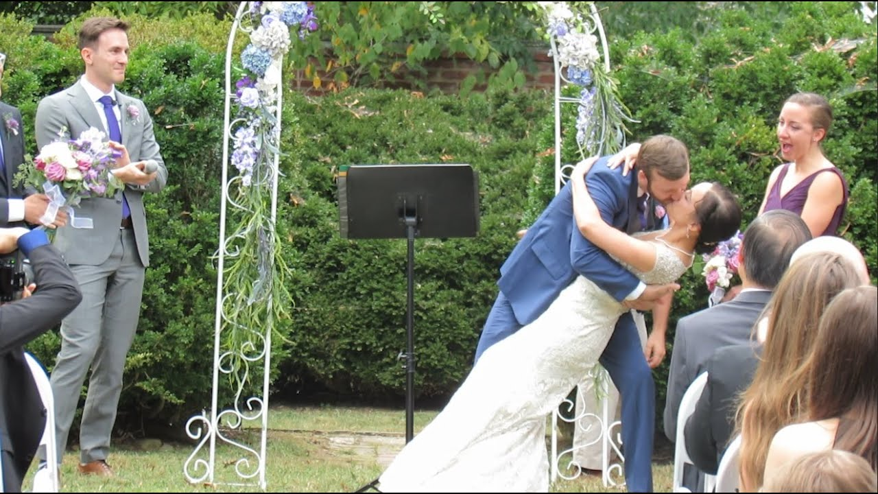 Wedding DJ & Ceremony - DJ Oscar  - Hollin Hall   Alexandria, VA