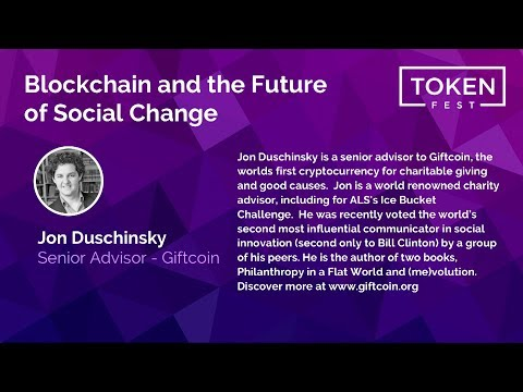 Jon Duschinsky - Blockchain and the Future of Social Change