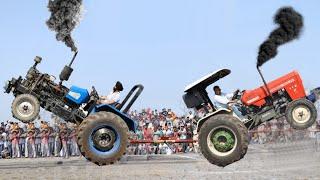 swaraj 855 vs sonalika 60 ||tractor tochan