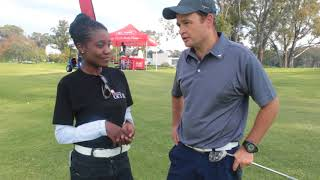 Interview 1 on the side-lines of the Golf Challenge.