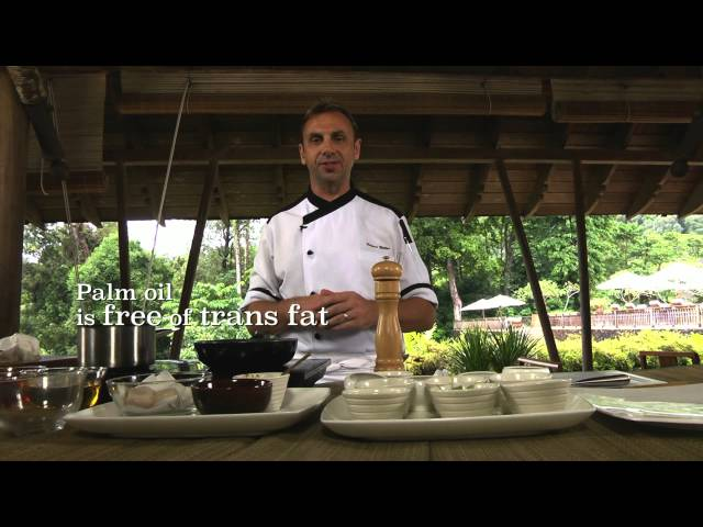 Palm Oil in Professional Kitchen: The Datai Langkawi