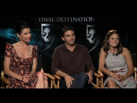 Final Destination 5 s  Miles Fisher, Jacqueline MacInnes Wood & Ellen Wroe
