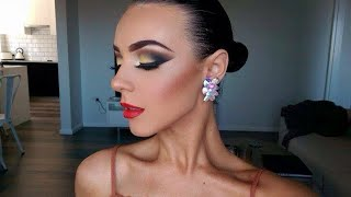 BALLROOM DANCING MAKEUP - Rachel Maree Macintosh V.6