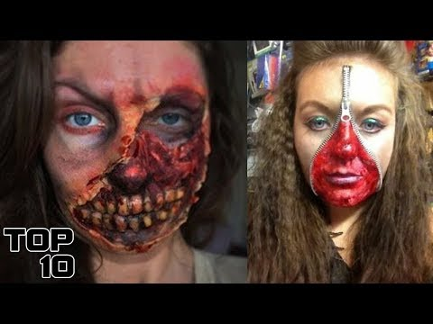 Top 10 Scary Halloween Costumes & Special Effects Makeup That You Won't Believe