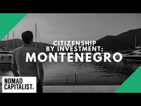 How To Get Montenegro Citizenship By Investment