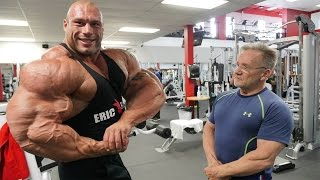 morgan aste the biggest bodybuilder to ever walk this earth