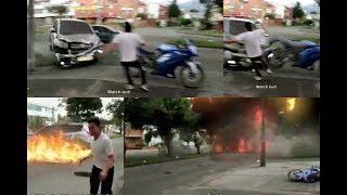 bike crash in accident