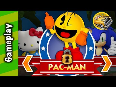Sonic Dash - Pac-Man Gameplay