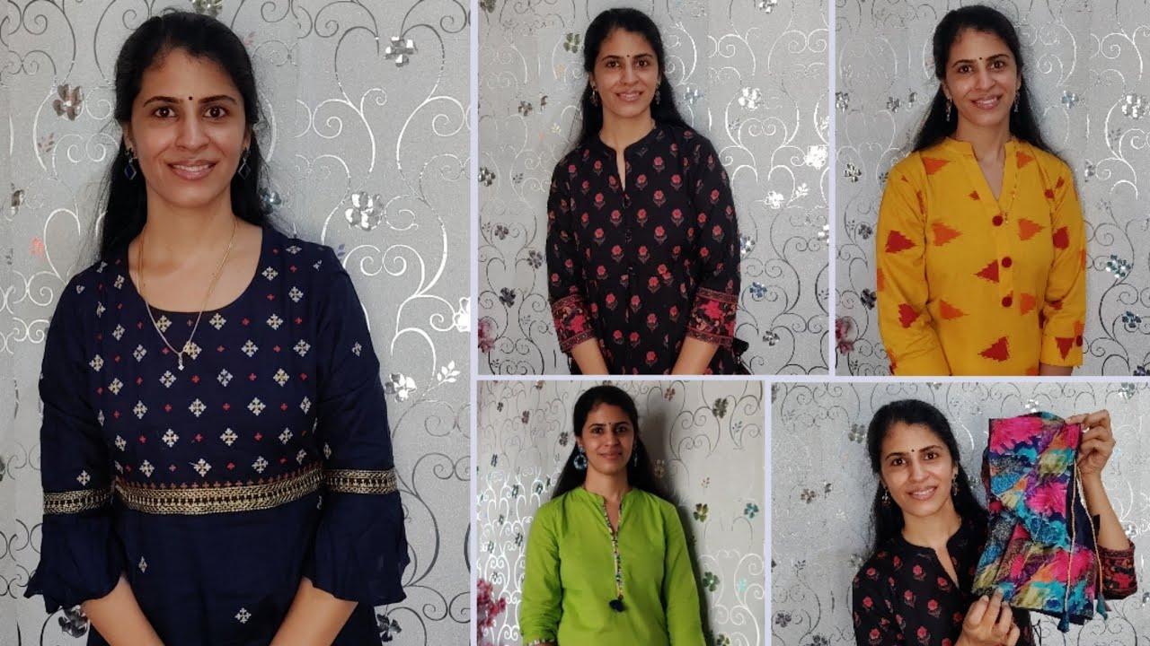 இவ்வளவு கம்மி விலையில்😲Grand Kurtis😍| Affordable Kurtis haul starting from 300 Rs | Meesho haul