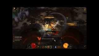 Diablo 3 Nightmare Mode Izual the Betrayer vs Trebio the Barbarian!