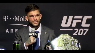 Cody Garbrandt: I Was Uncrowned Champion, Even When Dillashaw Was on Team (UFC 207 Post)