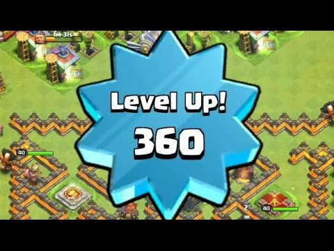 Highest Level, Let's Level Up 360, LEVEL 400 or NOT??? - Clash of Clans
