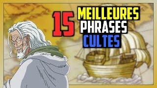 15 MEILLEURES Phrases CULTES de ONE PIECE