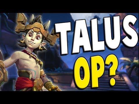 OB60 Talus Buff = OP?! | Paladins Gameplay