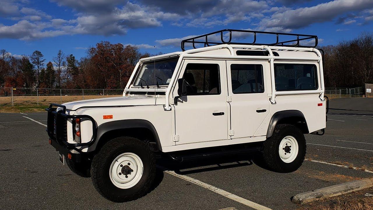 Defender 110 For Sale >> 1993 Land Rover Defender 110 Nas For Sale Formula One Imports Charlotte